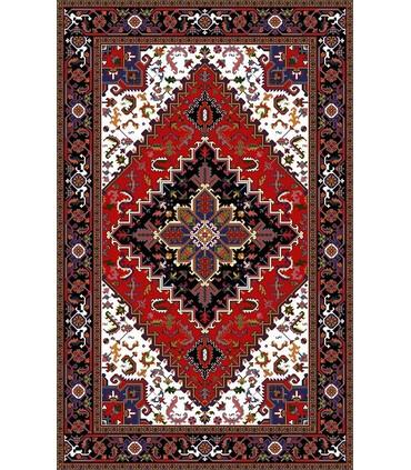 نخ و نقشه فرش درشت باف کد 29