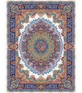 فرش مشهد طرح 708009 کرم