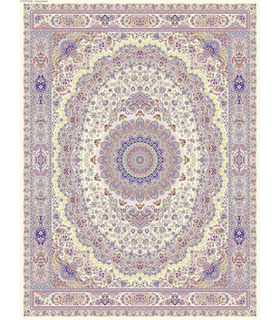 فرش قالی سلیمان طرح پسند کرم