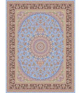 فرش قالی سلیمان طرح اصالت آبی