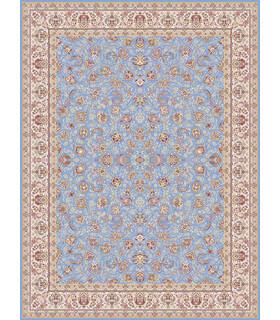 فرش قالی سلیمان طرح تافته آبی