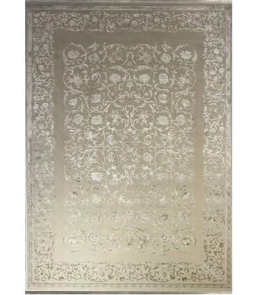 فرش ماشینی زمرد مشهد طرح 1902 بژ