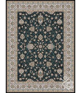 فرش ماشینی قیطران طرح فرناز سورمه ای