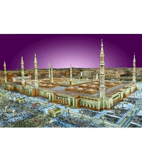 نخ و نقشه تابلو فرش طرح مذهبی کد 101