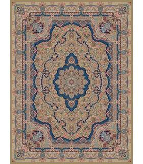 فرش مشهد طرح 85121 گردویی