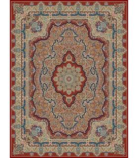 فرش مشهد طرح 85121 لاکی