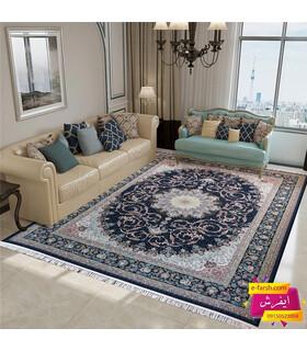 فرش پرشین مشهد طرح 36003 سورمه ای