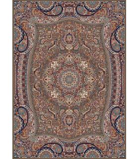 فرش زمرد مشهد طرح 18122 گردویی