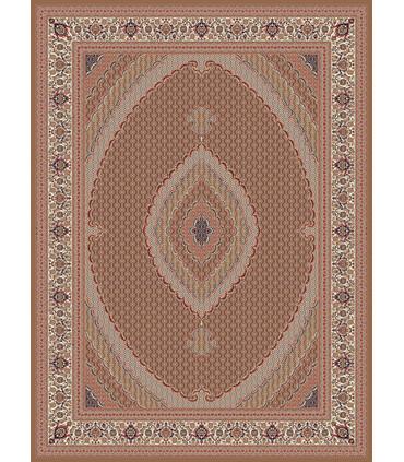 فرش زمرد مشهد طرح 14016 گردویی