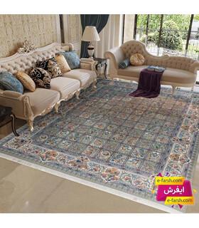 فرش ماشینی نگین مشهد طرح 1212 فیلی