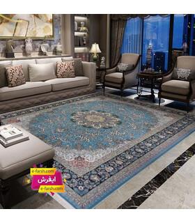 فرش پرشین مشهد طرح 36003 آبی