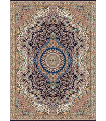 فرش زمرد مشهد طرح 10000 سورمه ای