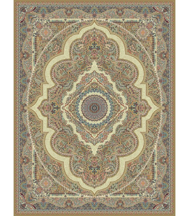فرش مشهد طرح 722008 گردویی