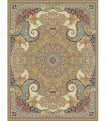 فرش مشهد طرح 852124 گردویی