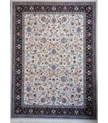 فرش ماشینی پرشین مشهد طرح 10102 کرم