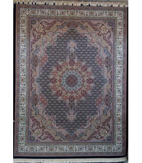 فرش پرشین مشهد طرح 10311 سورمه ای