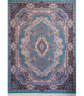 فرش پرشین مشهد طرح 10363 سورمه ای