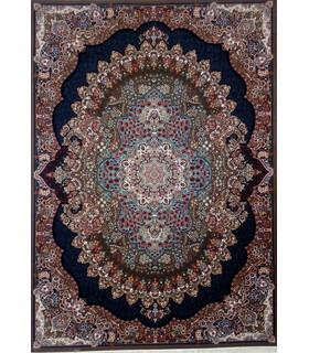فرش زمرد مشهد طرح 18130گردویی