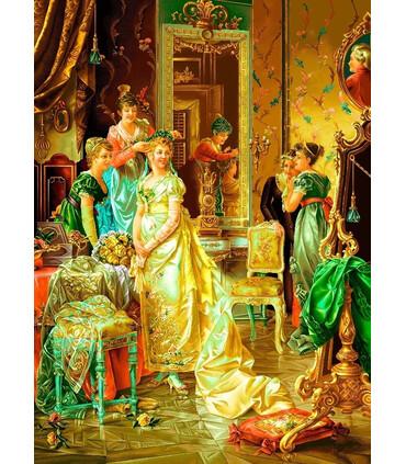 تابلوفرش دستباف طرح فرانسوی سالن آرایش