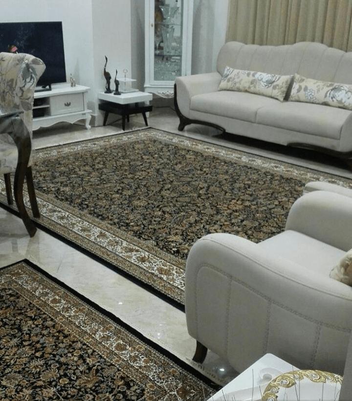 فرش سورمه ای 2