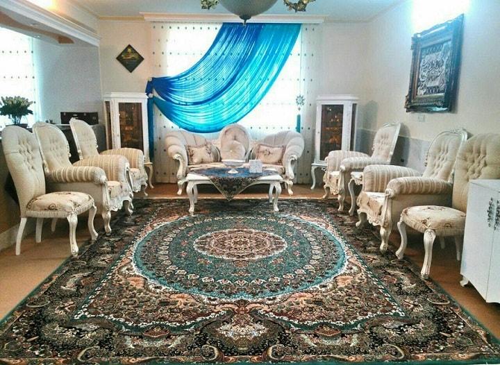 فرش آبی