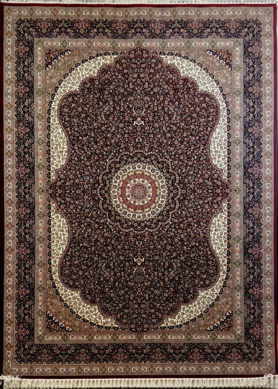 فرش زمرد مشهد طرح 14010 لاکی