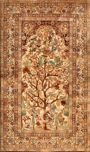 فرش طرح درختی