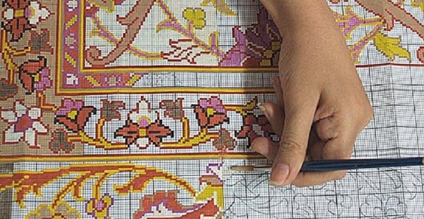 با انواع طرح و نقشه در فرش ایرانی بیشتر آشنا شوید