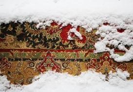 اسفند و برف و قالی