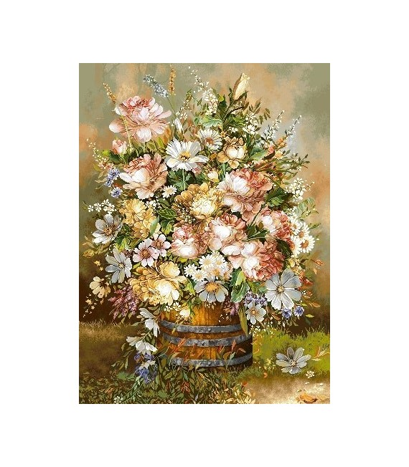 تابلوفرش دستباف کد 3 طرح گل آرگن