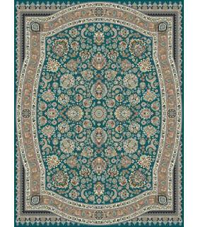 فرش مشهد طرح 802025 آبی