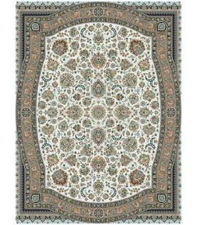 فرش مشهد طرح 802025 کرم