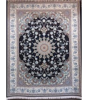فرش پرشین مشهد طرح 36002 سورمه ای