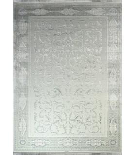فرش ماشینی زمرد مشهد طرح 1905 آبی
