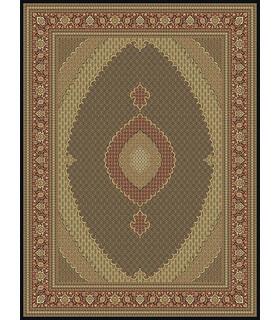 فرش مشهد طرح 87034 سورمه ای