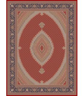 فرش زمرد مشهد طرح 14016 لاکی