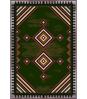 نخ و نقشه فرش درشت باف کد 42