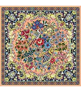 نخ و نقشه فرش درشت باف کد 32