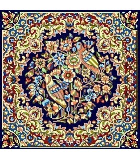 نخ و نقشه فرش درشت باف کد 33
