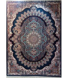 فرش پرشین مشهد طرح 25004 سورمه ای