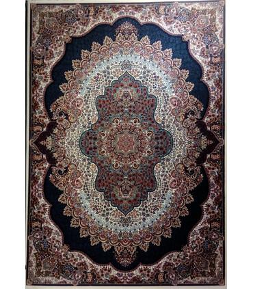 فرش ماشینی زمرد مشهد طرح 18130کرم