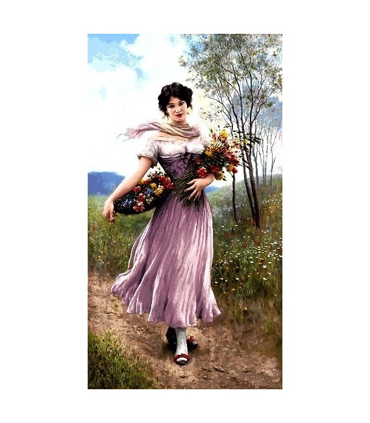 تابلوفرش دستباف طرح فرانسوی کد 24 گلچین
